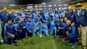 India beat New Zealand by 4-1 in one-day series